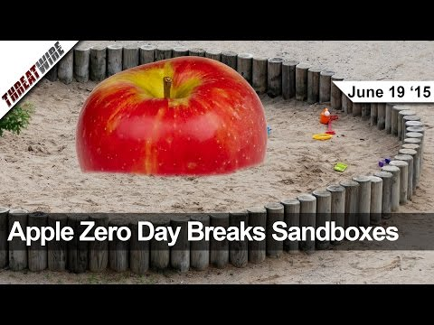 Apple Sıfır Gün, 600 Milyon Pwnable Samsungs Ve Daha Fazlası - Tehdit Tel