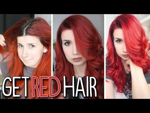 Nasıl Yapılır: Kızıl Saçlı Olsun!