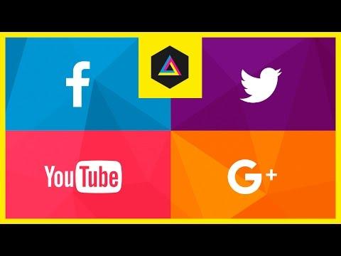 Sosyal Medya Tasarım | Photoshop İçin Ücretsiz Dijital Medya Paketi