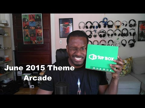 1Up Kutu Unboxing Haziran 2015 Arcade