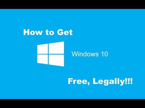 Nasıl Windows 10 Ücretsiz Almak İçin: Yasal Olarak!!!