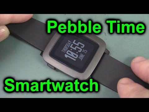 Eevblog #758 - Çakıl Zaman Smartwatch Unboxing Ve Gözden Geçirin