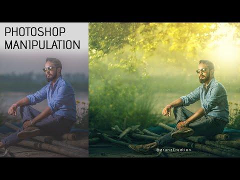 Photoshop Yüksek Sınıf Kompozisyon Ve Manipülasyon | Sarı Işık Efektleri