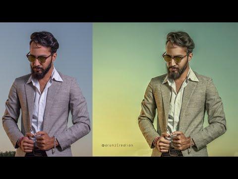 Photoshop Tutorial | Önceden Sinematik Renk Fotoğraf Efektleri Sınıflandırma