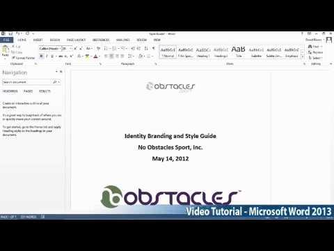 Microsoft Office Word 2013 Öğretici Adım Adım Part02 01 Metne Göre