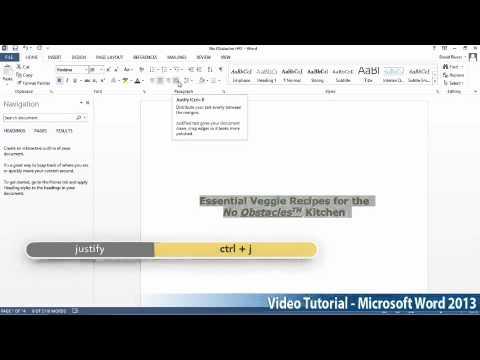 Microsoft Office Word 2013 Öğretici Adım Adım Part04 01 Paragraflar Tarafından
