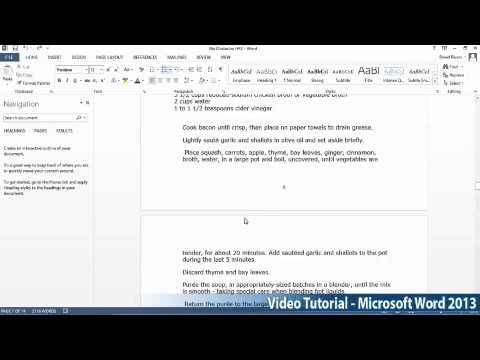 Microsoft Office Word 2013 Öğretici Adım Adım Part04 03 Keeptext Tarafından