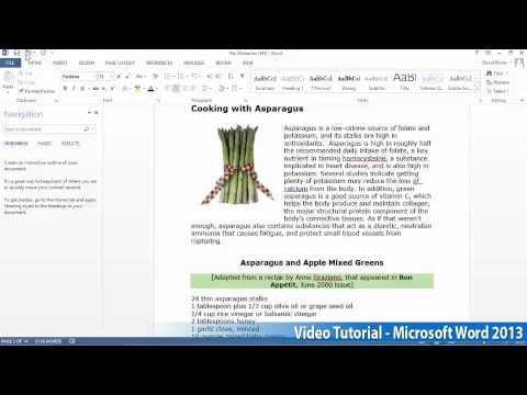 Microsoft Office Word 2013 Öğretici Adım Adım Part04 04 Gölgelendirme