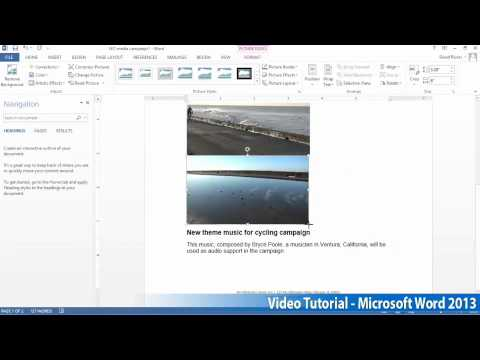 Microsoft Office Word 2013 Öğretici Adım Adım Part09 01 İnsertpics Tarafından