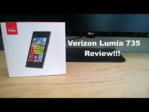 Verizon Lumia 735 İnceleme