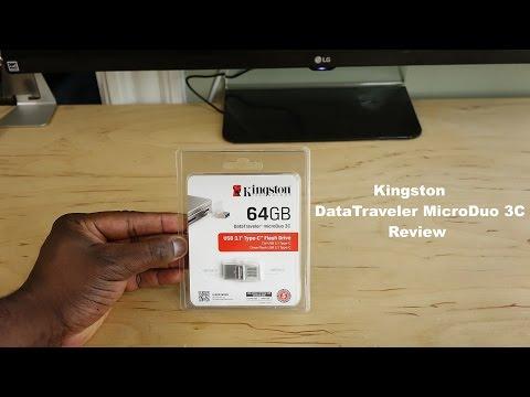 """Kingston Datatraveler Microduo Usb 3C Gözden Geçirme: 12"""" Macbook İçin Harika"""