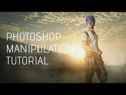 Photoshop | Nasıl Fotoğraf Manipülasyon Ve Duman Etkileri (Sardar Ji) İçin