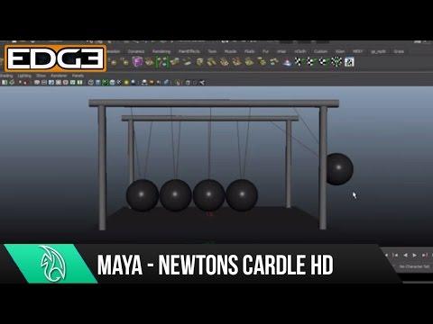 Maya 2015 Eğitimi - Nasıl Newton Beşik Hd Studiofourmedia Tarafından Oluşturmak İçin