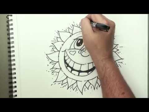 Bir Çizgi Film Güneş Şirin Ve Kolay - Hız Çizim Çizim Yapmayı | Kan Basıncı