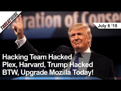 Takım, Parça, Harvard Kesmek, Trump Kesmek... Btw, Firefox Yükseltme! -Threatwire