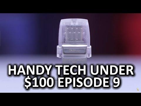 Kullanışlı Tech 100 Dolar Altında Bölüm 9 - Çok Geeky, Çok Serin
