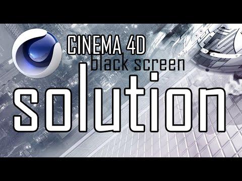Sinema 4D Siyah Ekran Hata [Fıx]