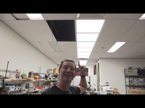 Eevblog #764 - Yeni Laboratuvar Tavan Led Aydınlatma Enstalasyonu