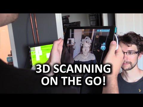 Oksipital Yapısı Sensörü - 3D Tarama Yüzünü Ve Daha Fazlası!