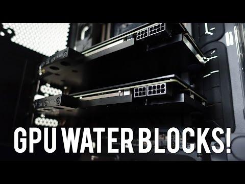 Özel Su Yapı Günlük 3 - Parçaları Ve Gpu Su Blok Yükleme Soğutmalı!