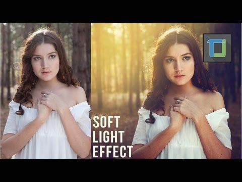 Yumuşak Işık Efekti | Photoshop Tutorial | Fotoğraf Efektleri [Bölüm 24]
