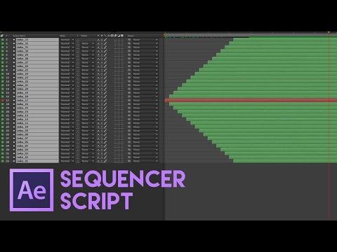 Cztutorıál - Sonra Etkileri 185 - Sequencer Komut Dosyası