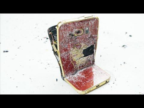 Demir Adam Galaxy S6 Kenar Aşırı Bend Testinde Öldürdü