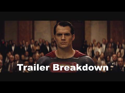 Batman V Süpermen Comic-Con: Römork Arıza Ve Gözden Geçirme
