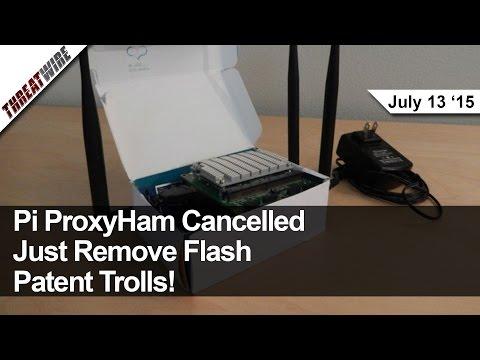 Ahududu Pi Proxyham İptal, Kill Flash, Yeni Java Saldırı, Patent Hala Suck - Threatwire Troller.
