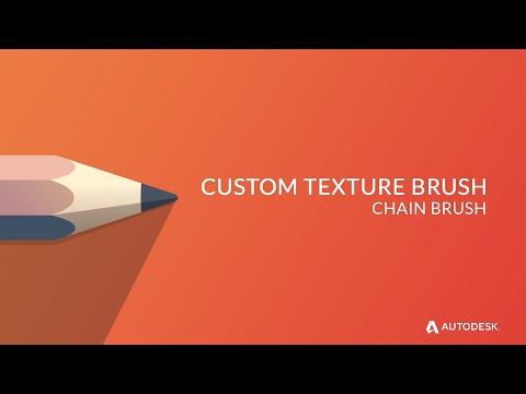 Autodesk Sketchbook: Özel Zinciri Fırça