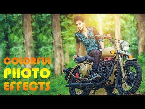 Photoshop Tutorials | Fotoğraf Efektleri (Renkli Işık)