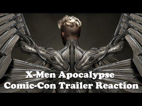 X-Men: Apocalypse Comic-Con Römork Tepki