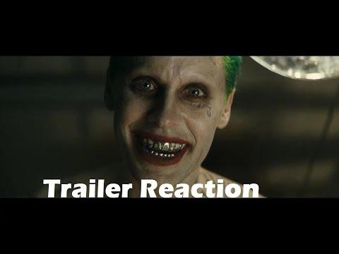 İntihar Ekibi Comic-Con Hd Trailer Tepki