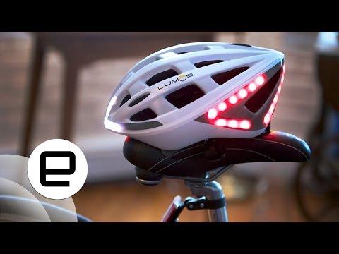 Lumos Kask Bisikletçiler Otomatik Fren Lambaları İle Güvenli Tutar