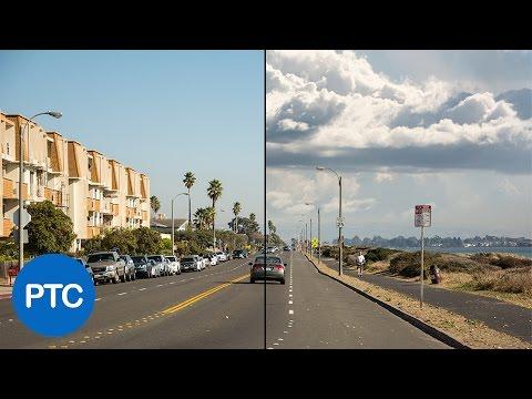 Nasıl Photoshop'ta Yedek Gökyüzü