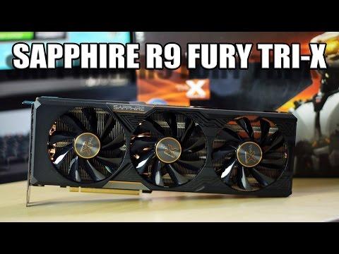 Hava Soğutmalı Fury! | Safir R9 Fury Tri-X