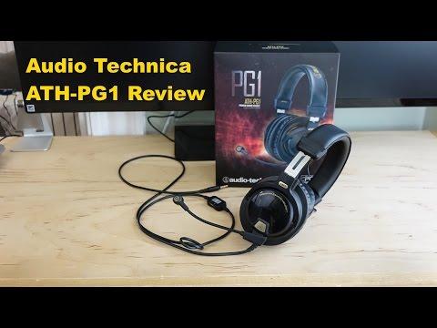 Audio Technica Ath-Pg1 Kapalı Geri Gaming Mezartaşı Bir Daha Gözden Geçirme