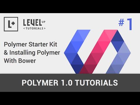 #1 Polimer Başlangıç Kiti Ve Yükleme Polimer Bower