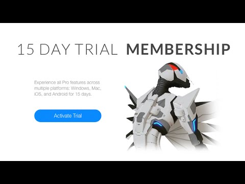 Autodesk Sketchbook: Ücretsiz Deneme Üyelik Etkinleştirme