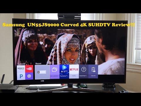 Samsung 55Js9000 4 K Suhdtv Gözden Geçirme [4 K] Kavisli
