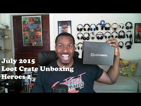 Temmuz 2015 Yağma Sandık Unboxing: Heroes 2