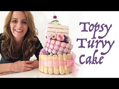 Topsy Turvy Kek O Ann Reardon Yemek Yapmayı