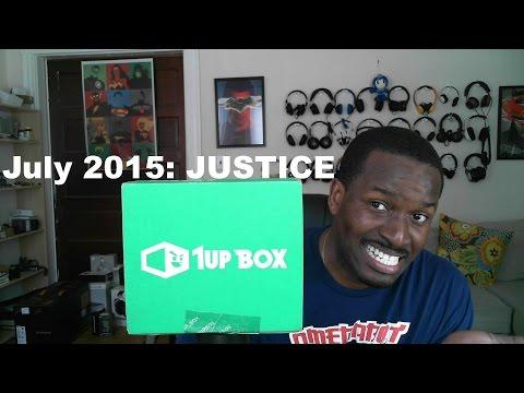 Temmuz 2015 Unboxing 1Up Kutusu: Adalet