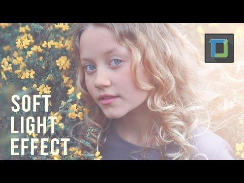 Yumuşak Işık Moda Bakmak Vintage Etkisi Öğretici Photoshop Cs6 | Fotoğraf Efektleri