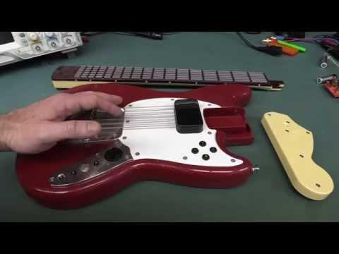Eevblog #770 - Rockband 3 Stratocaster Gitar Teardown