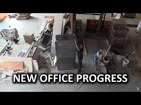 Yeni Office Vlog #4 - Büyük İlerleme Ve Lmg Sanat Ve El Sanatları