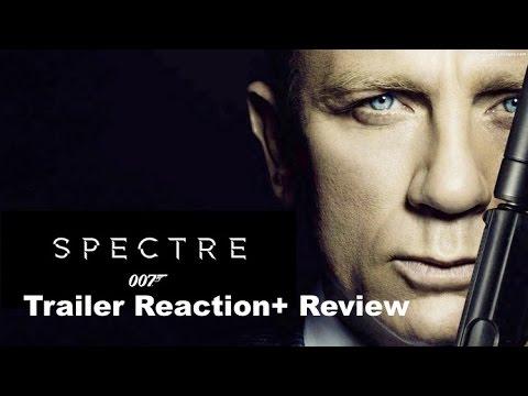 """Yeni James Bond """"hayalet"""" Römork Tepki + Bir Daha Gözden Geçirme"""