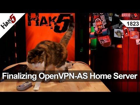 Openvpn Sonuçlandırılması-Ev Sunucusu Kurmak - Hak5 Olarak 1823