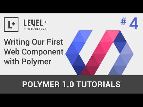 #4 Bizim İlk Web Bileşeni Polimer İle Yazma