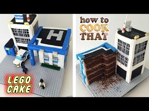 O Ann Reardon Yemek Yapmayı Lego Cıty Polis Kek